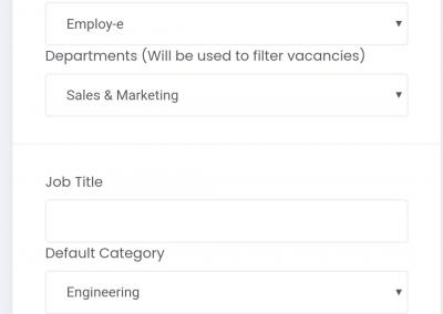 create a vacancy