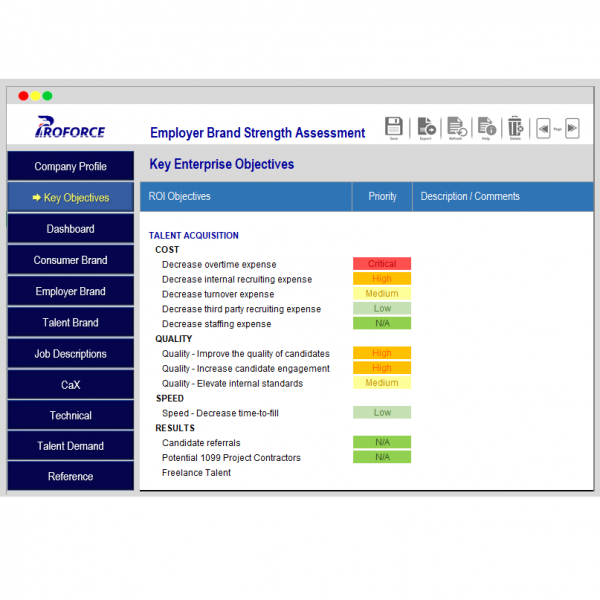 Employer Brand Strength Assessment 4 sq
