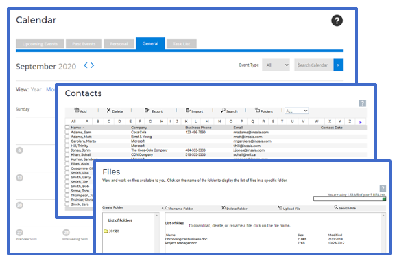 career transition software organizational tools